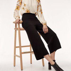 ARITZIA Brion Black High Waist Pants Size Small